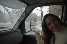 Neve na estrada